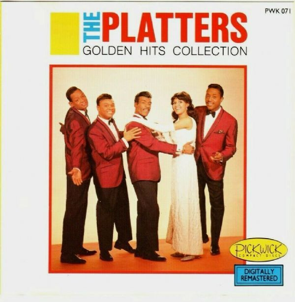 THE PLATTERS - GOLDEN HITS COLLECTION (CD 1988) USED